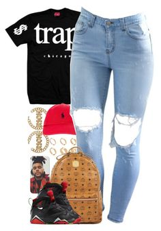 """Untitled #1411"" by power-beauty ❤ liked on Polyvore featuring ASOS, Polo Ralph Lauren and MCM"