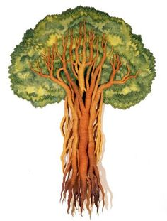 Gallery.ru / Фото #3 - Дерево,веточка,листочек - вышивка (и не только),фотографии,р - A-legria