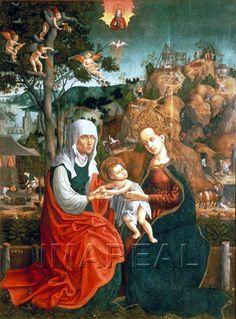 Hl. Anna Selbdritt 1513-1513; Roznava; Slowakei; Pfarrkirche  http://tarvos.imareal.oeaw.ac.at/server/images/7013270.JPG