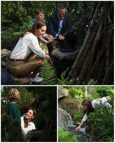 "👑 Catherine elizabeth 👑 on Instagram: ""#NEWS #NEW #TODAY The Duchess of Cambridge unveiled her #RHS Back to Nature garden at the Chelsea Flower Show. She joined a group of…"" Duchess Kate, Duke And Duchess, Duchess Of Cambridge, William Kate, Prince William, Instagram News, Chelsea Garden, Queens Jewels, Kate And Meghan"