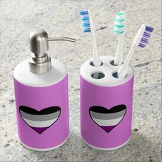 Find This Pin And More On Ity Pride Wet Violet Paint Bathroom Set