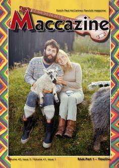 Maccazine – RAM special, part 1. Volume 40 number 3, 2012, volume 41 number 1, 2013 (double edition). Paul McCartney Fanclub – www.mccartneymaccazine.com