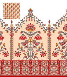 Textile Prints, Textile Design, Textiles, Floral Rug, Border Design, Geometric Art, Bohemian Rug, Area Rugs, Ornaments