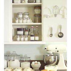 Kitchen full of baking supplies