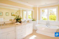 This bathtub + lots of bubbles = Tuesday night bliss.