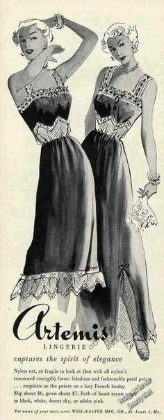 Artemis Nightgowns