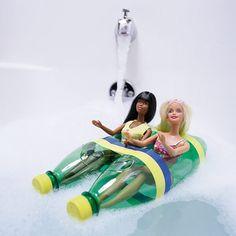 Cool DIY Idea To Take Favorite Toys To The Bath | Kidsomania
