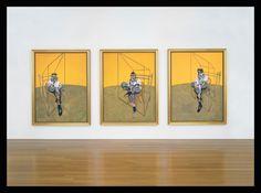 "Francis Bacon (1909-1992) 'Three Studies of Lucian Freud"""