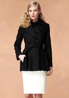 ideeli | VIA SPIGA Scarpa Wool Coat