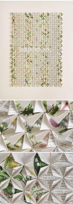 francisca prieto {folded paper - botanicals}