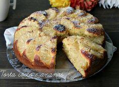 Torta cocco e ananas un dolce buono soffice e goloso perfetto per ogni momento del giorno un dolce per la colazione e per tutta la famiglia