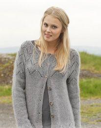 Strikkeopskrifter.dk | Drops Fox jacket