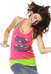 ZUMBA TOP ONE SIZE BNWT PARTY IN PINK PINK T-SHIRT