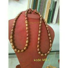 Kalung mutiara air tawar asli lombok (For sale)  Lombokglam.art@gmail.com