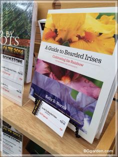 Found a new MUST HAVE book a the #GLTE : Kelly Norris Iris Guild! #gardenchat