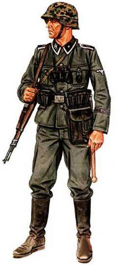 """SS division """"Das Reich"""", NCO, 1939/40, pin by Paolo Marzioli"""