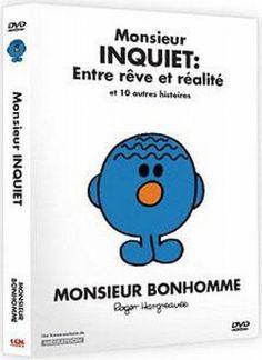 Monsieur Bonhomme:  Monsieur Inquiet Entre rêve et réalité et 10 autres histoires (Version française) Distribution Select (Video) http://www.amazon.ca/dp/B004LTB0AK/ref=cm_sw_r_pi_dp_Uux1ub1T1T6YV