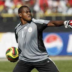 Vincent Enyeama, Nigerian footballer who plays as a goalkeeper for LOSC Lille and Nigeria National Football Team. He has won African Cup 2013 and he's the best Nigerian goalkeeper of all the times.