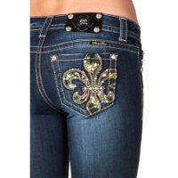 Miss Me Boot Cut Jeans JP6259B,Dark Blue,26 (1/2) Long (34L) $99.00 #MissMe