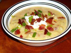A Crafty Cook: Bacon and Baked Potato Soup