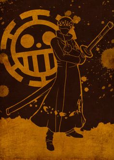 Displate Poster The Heart Art onepiece One Piece Top, One Piece Anime, One Peace, Laughing Jack, One Piece Pictures, Trafalgar Law, Heart Art, Zoro, Cartoon Characters