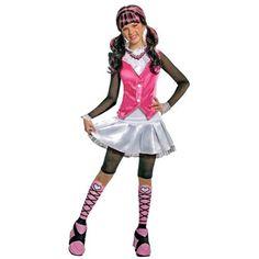 Monster High Deluxe Draculaura Girl's Costume #monster high child costume #monster high costume