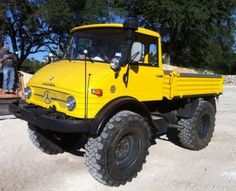 1973 Unimog 406 4×4