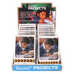 Box of 48 Social Project Bracelets in a Display - Something Different Wholesale Red Company, Buy Boxes, Worry Dolls, Social Projects, Bracelet Display, Chakra Jewelry, Dog Cards, Display Boxes, How To Find Out
