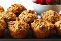 These muffins make a tasty and healthy snack! My whole family loves to eat these, but you have to be quick, they are gone as soon as they are out of the oven!