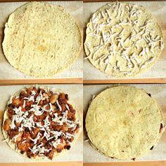 Veganmisjonen: Quesadilla med fabelaktig bønnechili Quesadilla, Chili, Bread, Food, Chile, Quesadillas, Brot, Essen, Baking