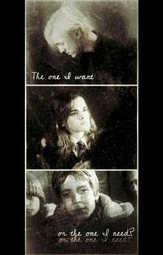 """Read """"The One I Want, or The One I Need? Fremione/Dramione - Part 2"""" #wattpad #fanfiction"""