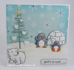 Happy Winter :-) by yorkshire lass - Cards and Paper Crafts at Splitcoaststampers