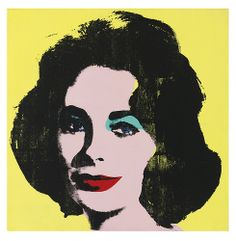 Andy Warhol - Liz #1 (Early Coloured Liz) [1963]