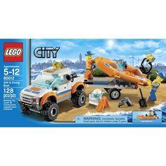 Lego 4x4 Diving Boat. For Iz.