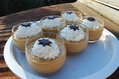 koffiemousse Thermomix Desserts, No Cook Desserts, Winter Desserts, Meals In A Jar, Four, Catering, Foodies, Cheesecake, Deserts