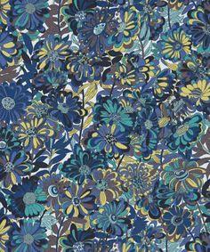 Liberty Art Fabrics Willow Rose A Stretch Gaberdine Cotton-Blend | Fabric | Liberty.co.uk