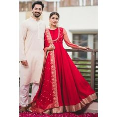 Super ideas for dress wedding red fashion Indian Attire, Indian Ethnic Wear, Ethnic Gown, Pakistani Bridal Dresses, Indian Dresses, Indian Wedding Outfits, Indian Outfits, Dress Wedding, Indian Reception Outfit