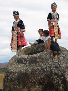 The Mysterious Plain of Jars in Laos