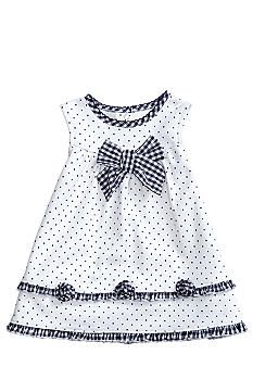 Best 12 Little Me Gingham & Dot Dress Baby Frocks Designs, Kids Frocks Design, Baby Dress Design, Frock Design, Kids Dress Wear, Little Girl Dresses, Dress Girl, Toddler Fashion, Kids Fashion