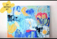 DIY: Colourful Abstract Art | Photos | HGTV Canada
