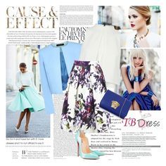 """""""Win a prize and Style TBDRESS trendy floral skirt"""" by misslcb ❤ liked on Polyvore featuring Envi, Été Swim, Jaeger, Versace and tbdressreviews"""