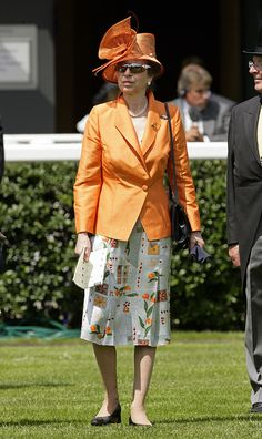 HRH Princess Anne, The Princess Royal attends Royal Ascot at Ascot Racecourse on June 2009 in Ascot, England. Get premium, high resolution news photos at Getty Images Princess Elizabeth, Royal Princess, Queen Elizabeth Ii, Royal Ascot, Yellow Fashion, Royal Fashion, Nicole Warne, Lady Ann, Style Royal
