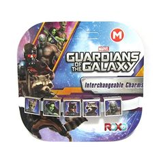 Roxo - Marvel Guardians of the Galaxy 5 Charm Bracelet, Size Medium (7 inches) ** Details can be found by clicking on the image.