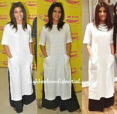 Linen salwar with palazzo pants