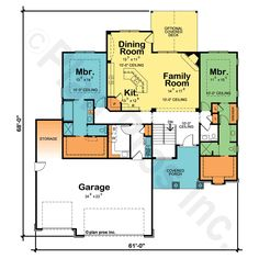 dual master bedroom house plans | Dual Master or Owner Bedroom ...
