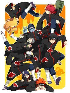 Credits to the artist Anime Naruto, Naruto Akatsuki Funny, Manga Anime, Naruto Fan Art, Naruto Funny, Naruto And Hinata, Itachi, Kakashi Sensei, Wallpapers Naruto