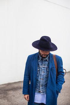 Street looks à la Fashion Week homme automne-hiver 2015-2016 de Milan, Jour 3.