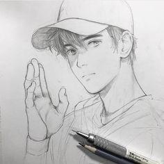 Marvelous Learn To Draw Manga Ideas. Exquisite Learn To Draw Manga Ideas. Anime Drawings Sketches, Pencil Art Drawings, Anime Sketch, Cool Drawings, Human Drawing, Manga Drawing, Anime Boy Zeichnung, Wie Zeichnet Man Manga, Anime Kunst