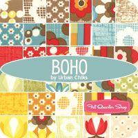 Boho MINI Charm Pack Urban Chiks for Moda Fabrics - Fat Quarter Shop