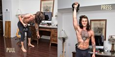 Home to Build a Home Gym / How to Train at Home to Build Muscle: Pulls and Presses
